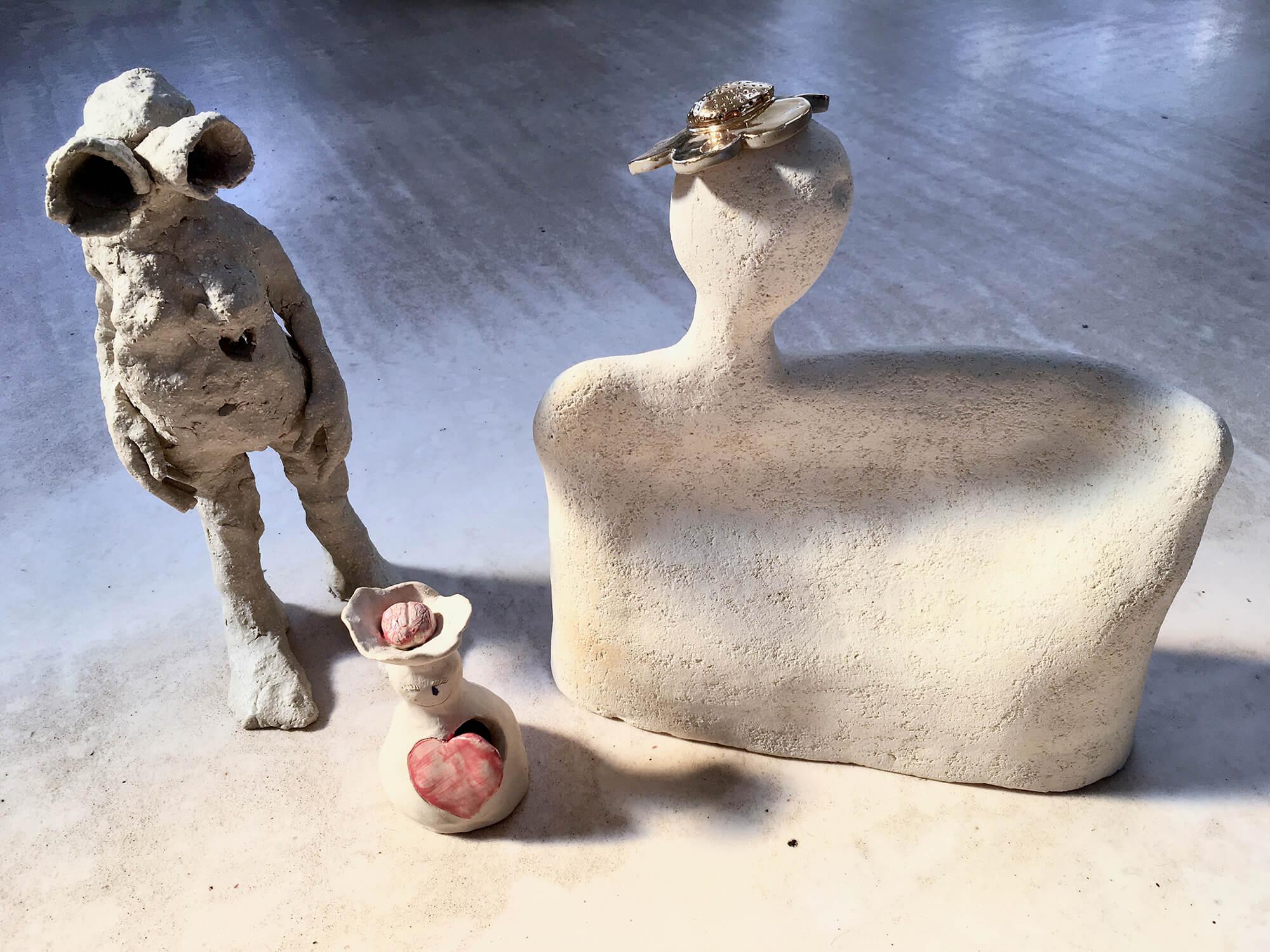 Sfeerbeeld Atelier-K! | Cursussen & workshops keramiek voor volwassenen in Merksem