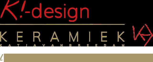 Logo K!-design | Atelier-K! - Cursussen & workshops keramiek voor volwassenen in Merksem
